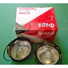Lada Niva H4 1700 Headlight Complete Pair With Bulbs OEM 21213-3711010