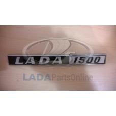 "Lada 2103 Plastic Tailgate Ornament ""LADA 1500"""