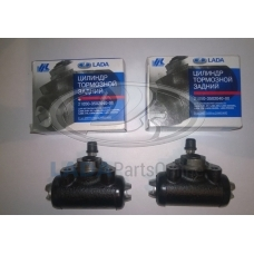 Lada 2105 Rear Wheel Brake Cylinder 2 pcs