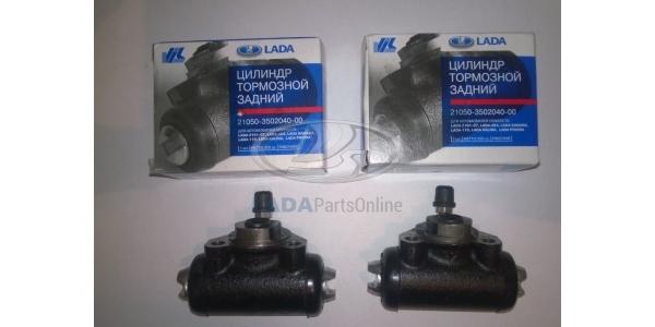 Lada 2105 Rear Wheel Brake Cylinder 2 pcs