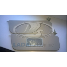 Lada 21061 Sunvisor Kit + Mirror OEM