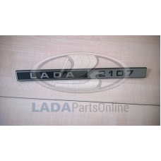 Lada Laika Riva Nova 2107 Rear Trim Badge Emblem