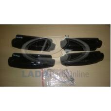 Lada Niva 2104 2105 2107 Euro Handles Kit Tunning Black Lacquer