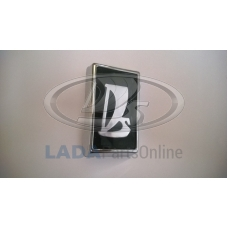 Lada 2106 Front Radiator Grille Badge Silver Chrome