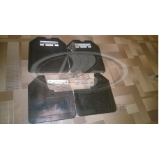 Lada 2121 Mud Flaps Kit Wish Logo 4X4